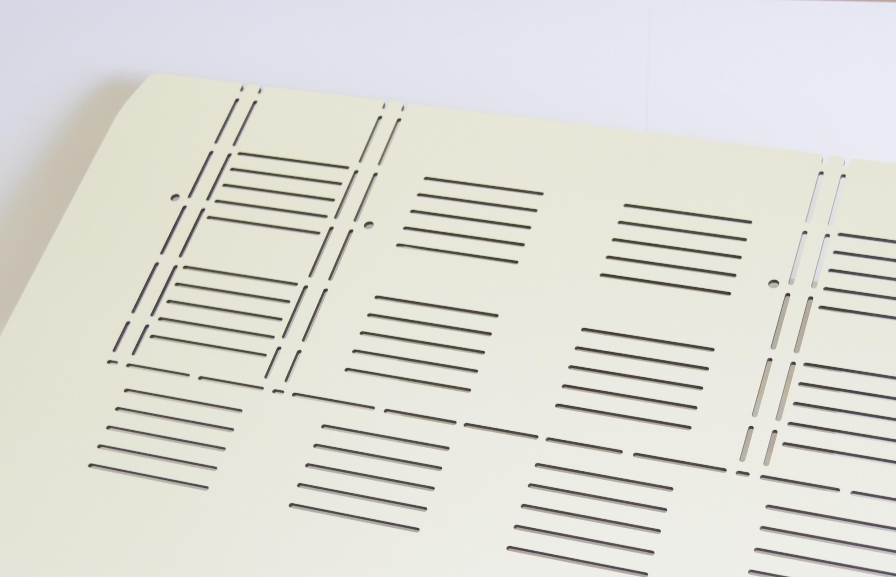 Elektroschott-Tafel aus HPL