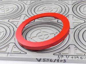 Hartplastik-Ring